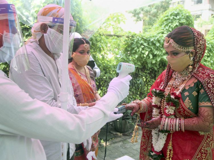 Precaution in Weddings under covid guidelines